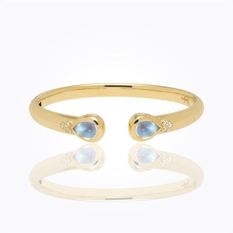 18K Yellow Gold Bella Bangle