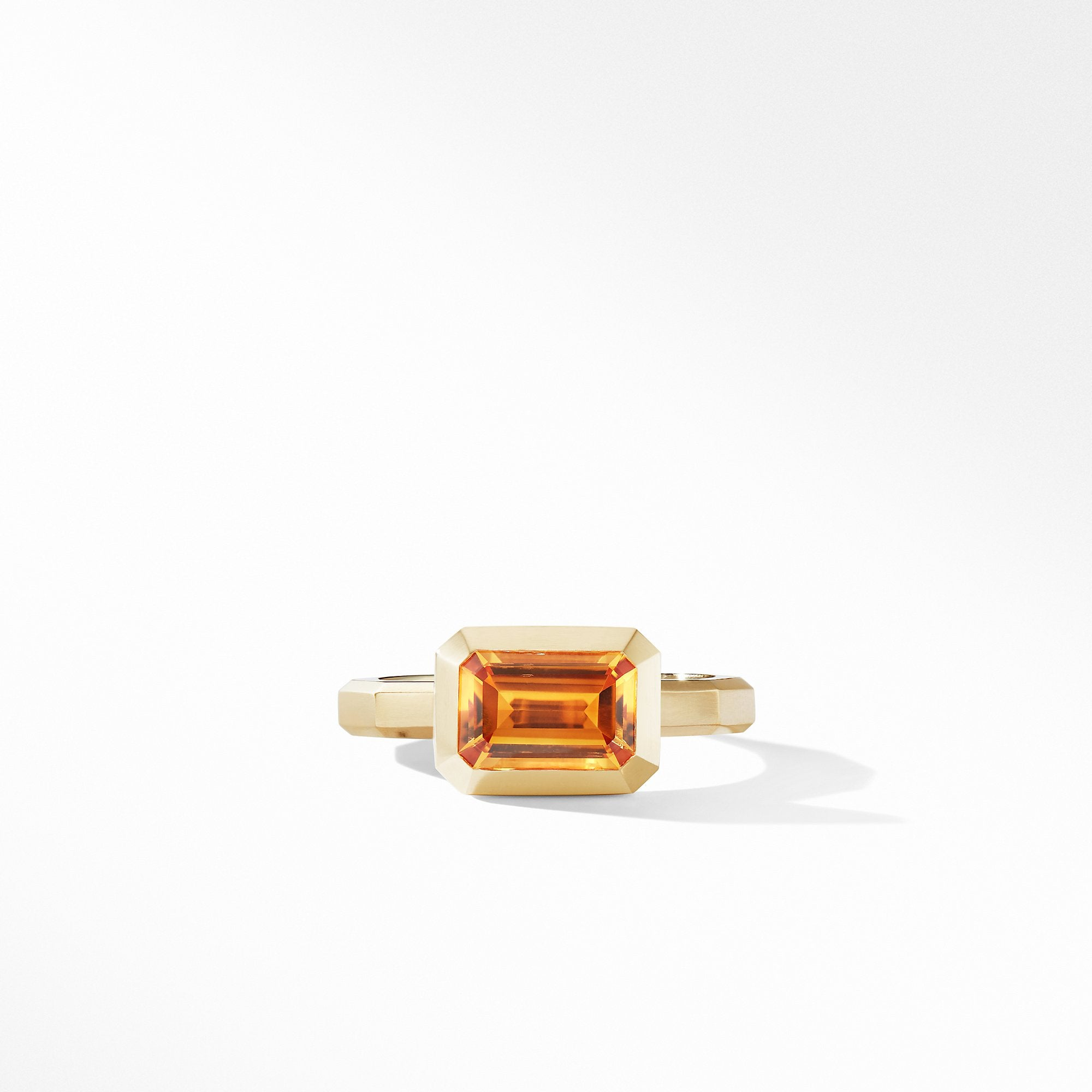 Novella Ring in 18K Yellow Gold with Madeira Citrine