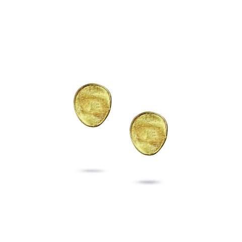 Lunaria 18K Yellow Gold Petite Stud Earrings