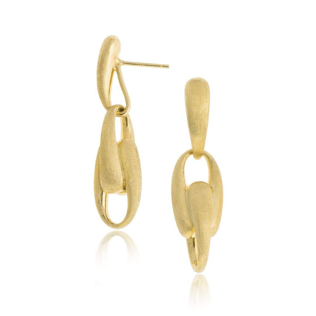 Lucia 18K Yellow Gold Link Earrings