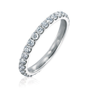 Platinum Odessa™ Diamond Eternity Band 0.75 CTW
