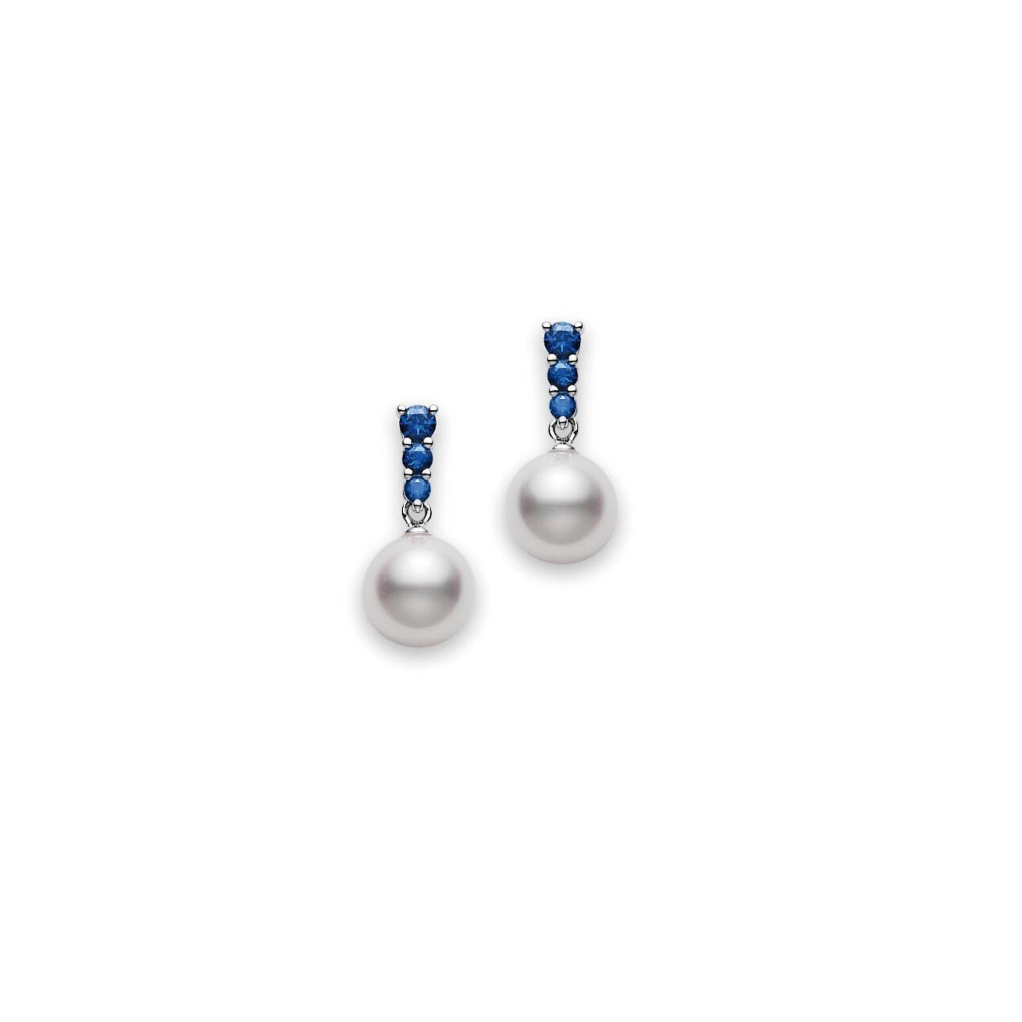 Morning Dew Akoya Cultured Pearl Earrings