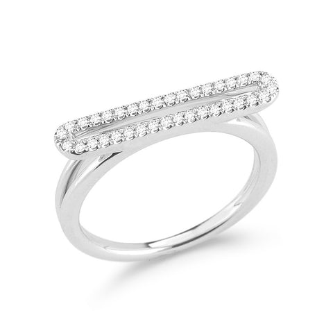 Isabelle Brooke 14K Bar Ring