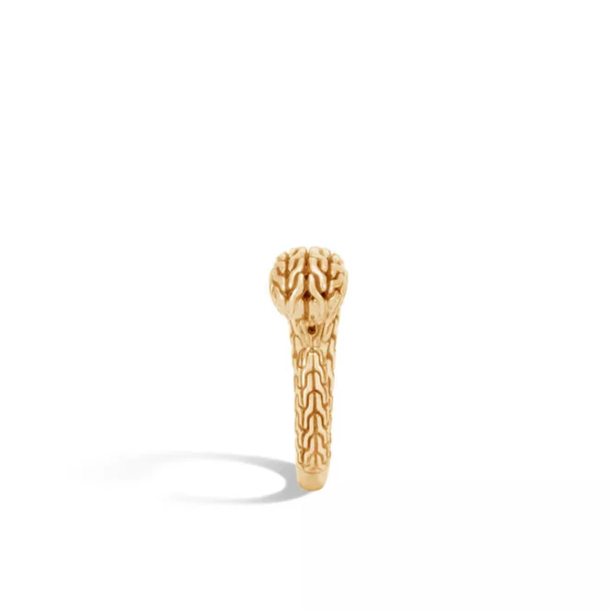 Classic Chain Open 18K Yellow Gold Ring