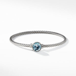 Chatelaine Bracelet with Blue Topaz