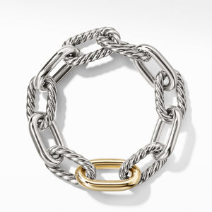 DY Madison Large Bracelet with 18K Gold, 13