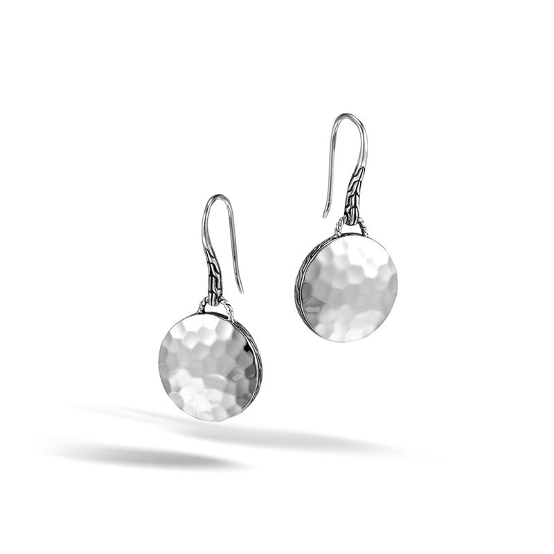 Dot Round Drop Earrings
