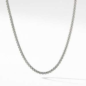 Box Chain Necklace with Gold