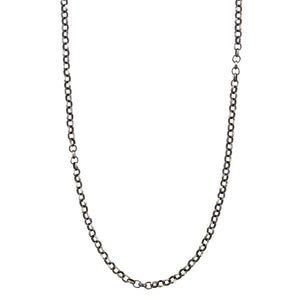 Sterling Silver Blackened Chain