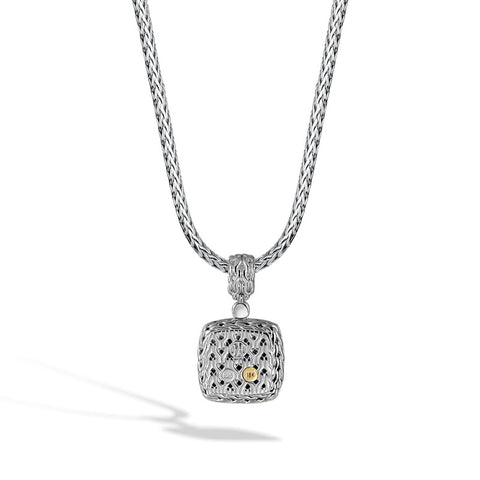 Classic Chain Enhancer with Diamonds