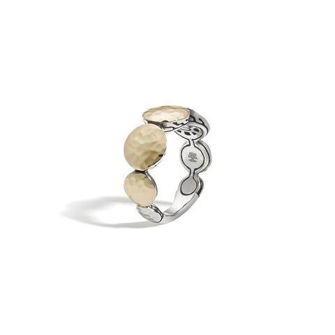 Dot Round Disc Ring