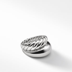 Pure Form Two Row Ring