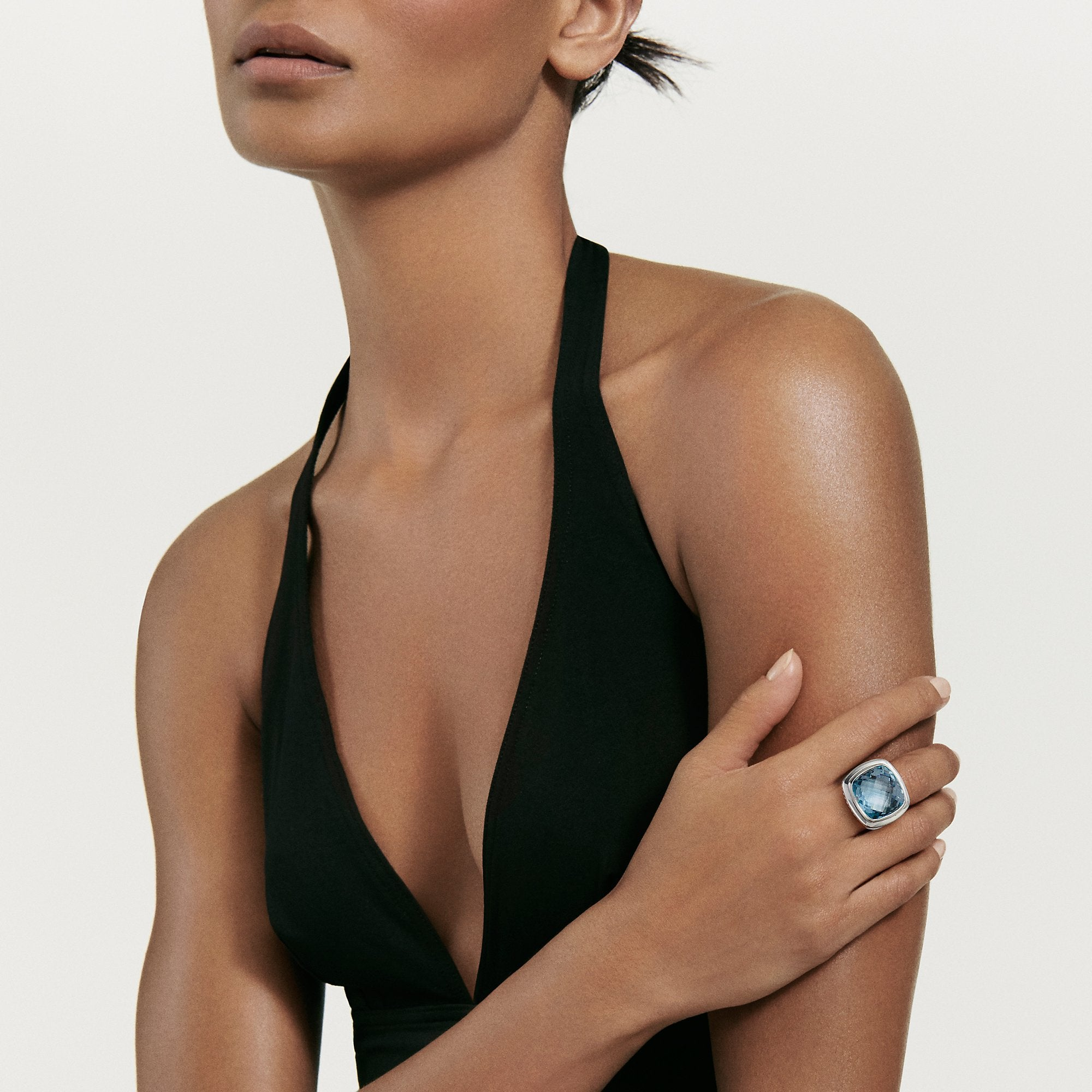 Albion® Statement Ring in Black Orchid