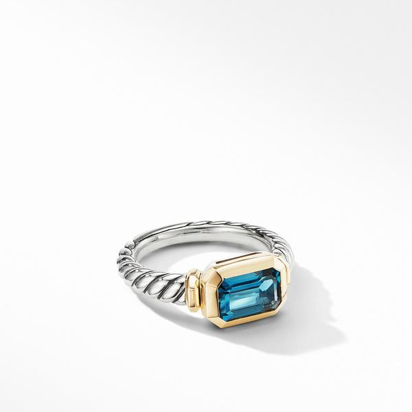 Novella Ring with Hampton Blue Topaz and 18K Yellow Gold