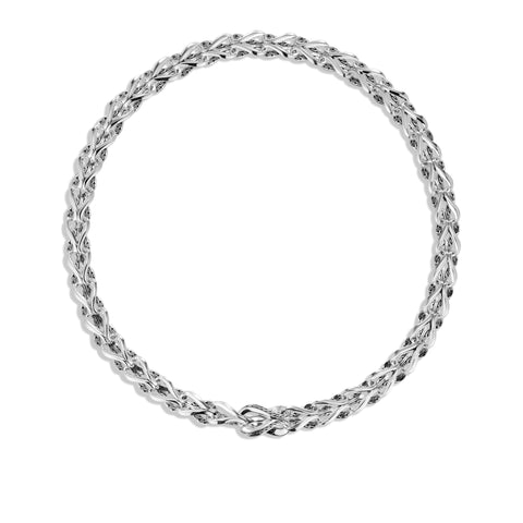 Asli Classic Chain Link Silver Necklace