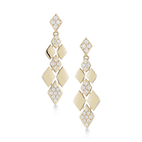 Jeanie Ann 14K Drop Earrings