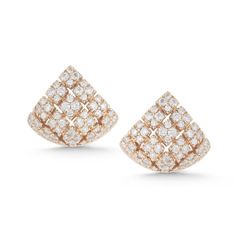 Jennifer Yamina 14K Diamond Studs