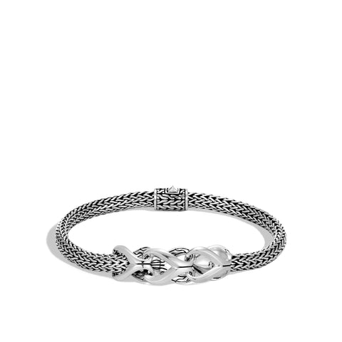 Asli Classic Chain Link Silver Extra-Small Bracelet with Pusher Clasp