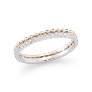 Poppy Rae 14K Diamond Band