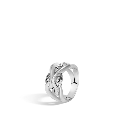 Asli Classic Chain Link Silver Ring
