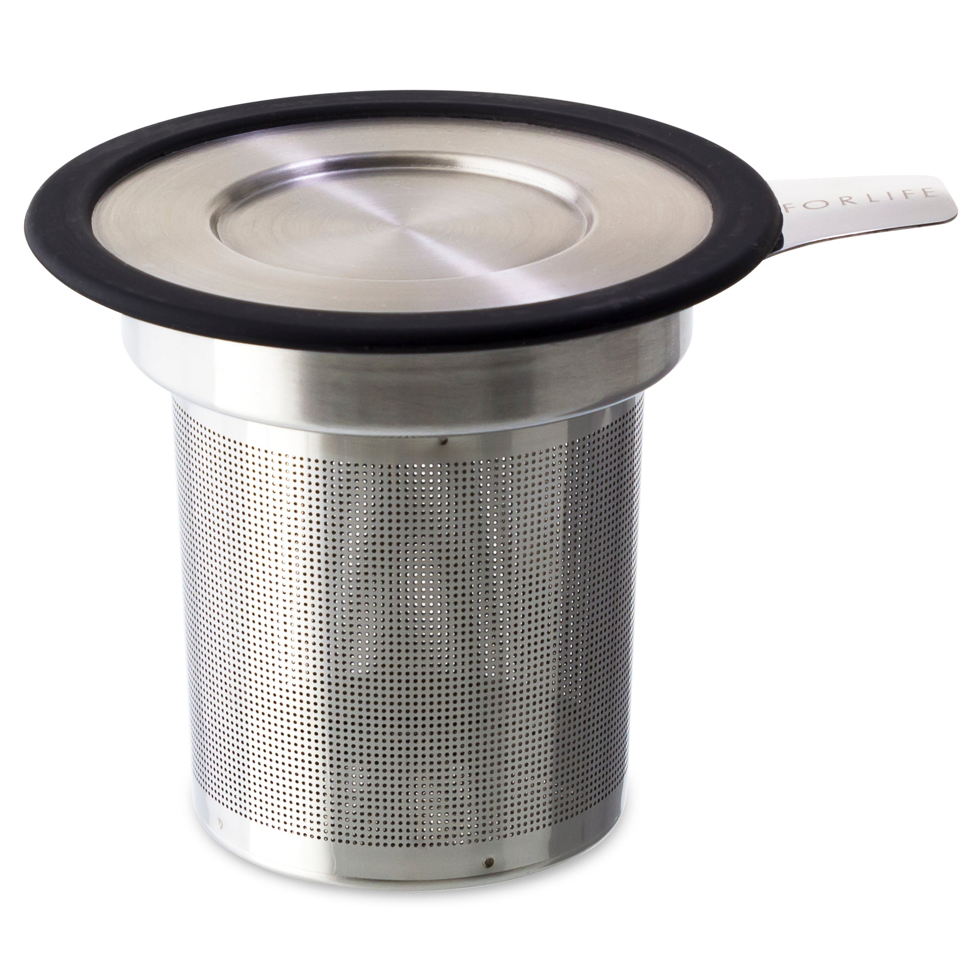 Brew-in-Mug Extra-fine Tea Infuser<br>with Lid
