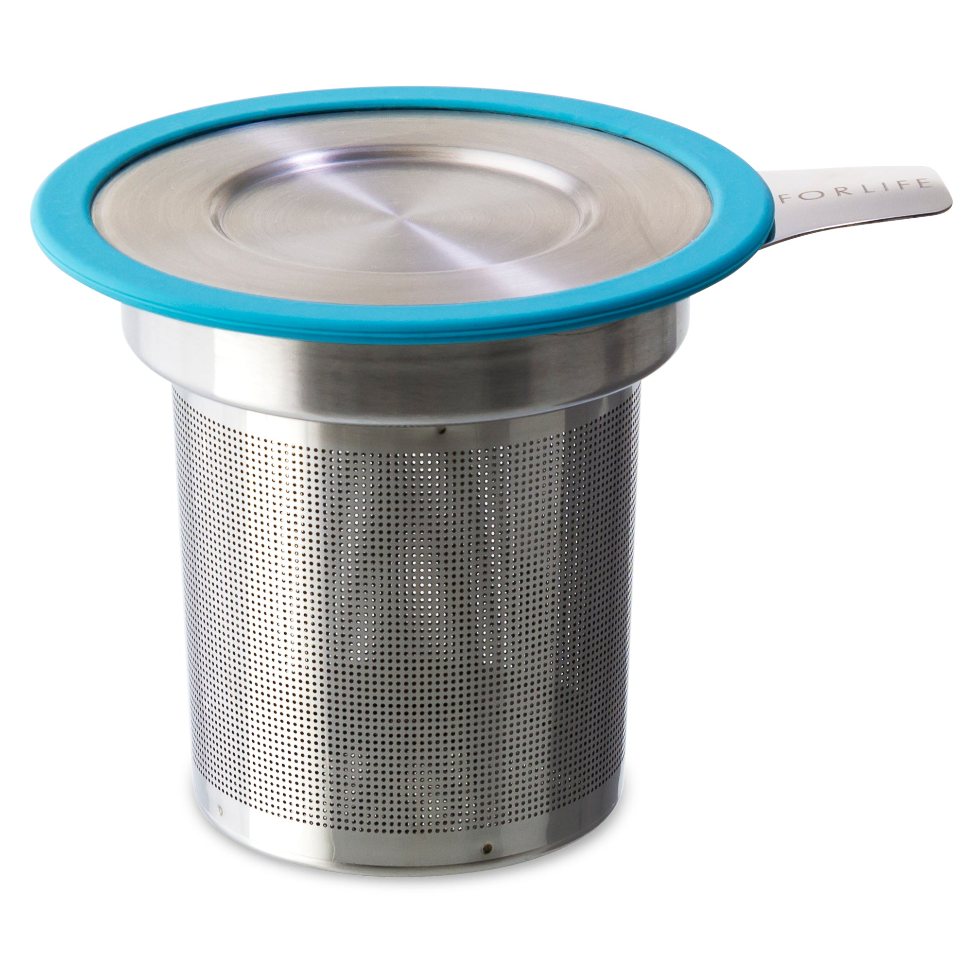 Brew-in-Mug Extra-fine Tea Infuser<br>with Lid (Set of 6)