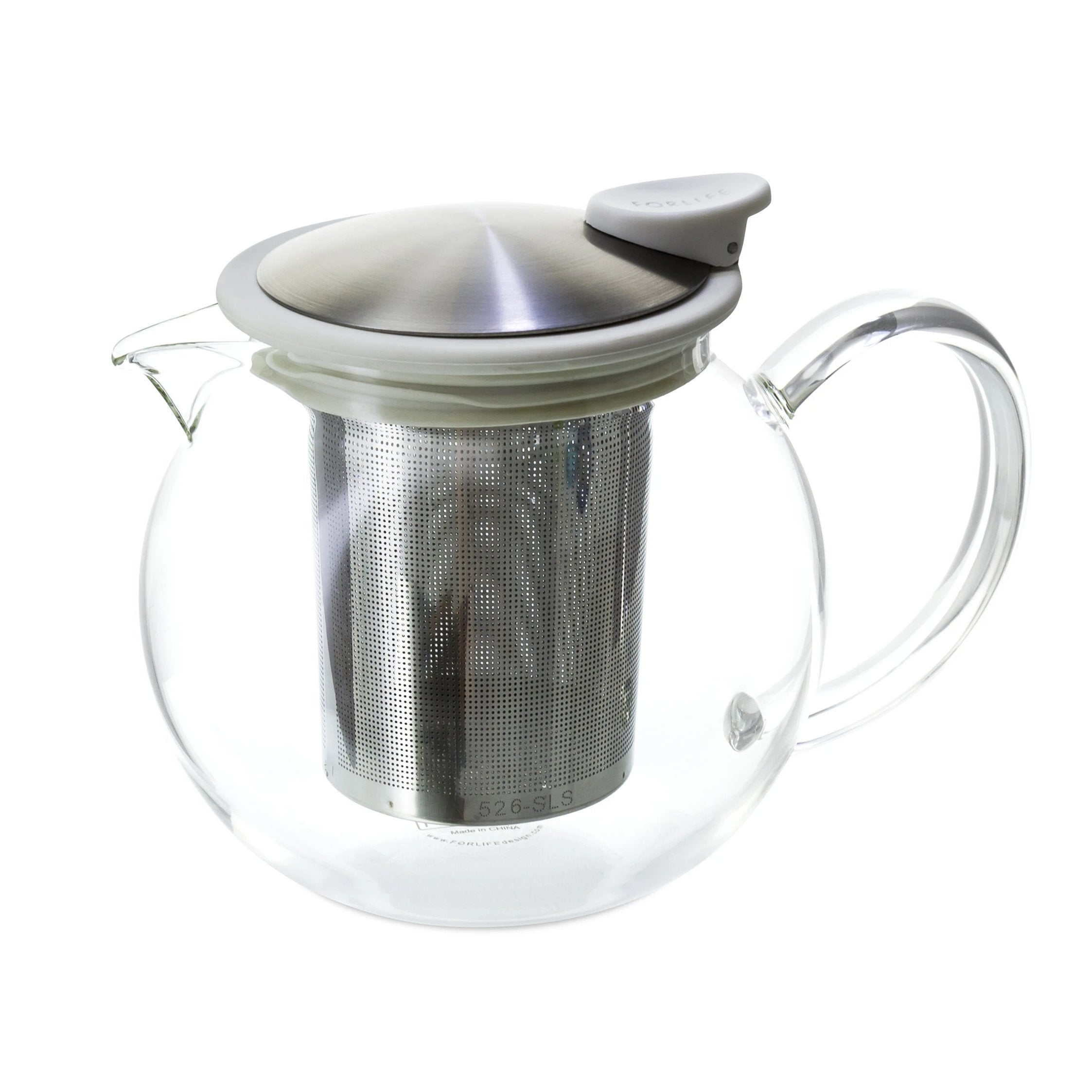 Bola Glass Teapot with Basket Infuser<br>25 oz.