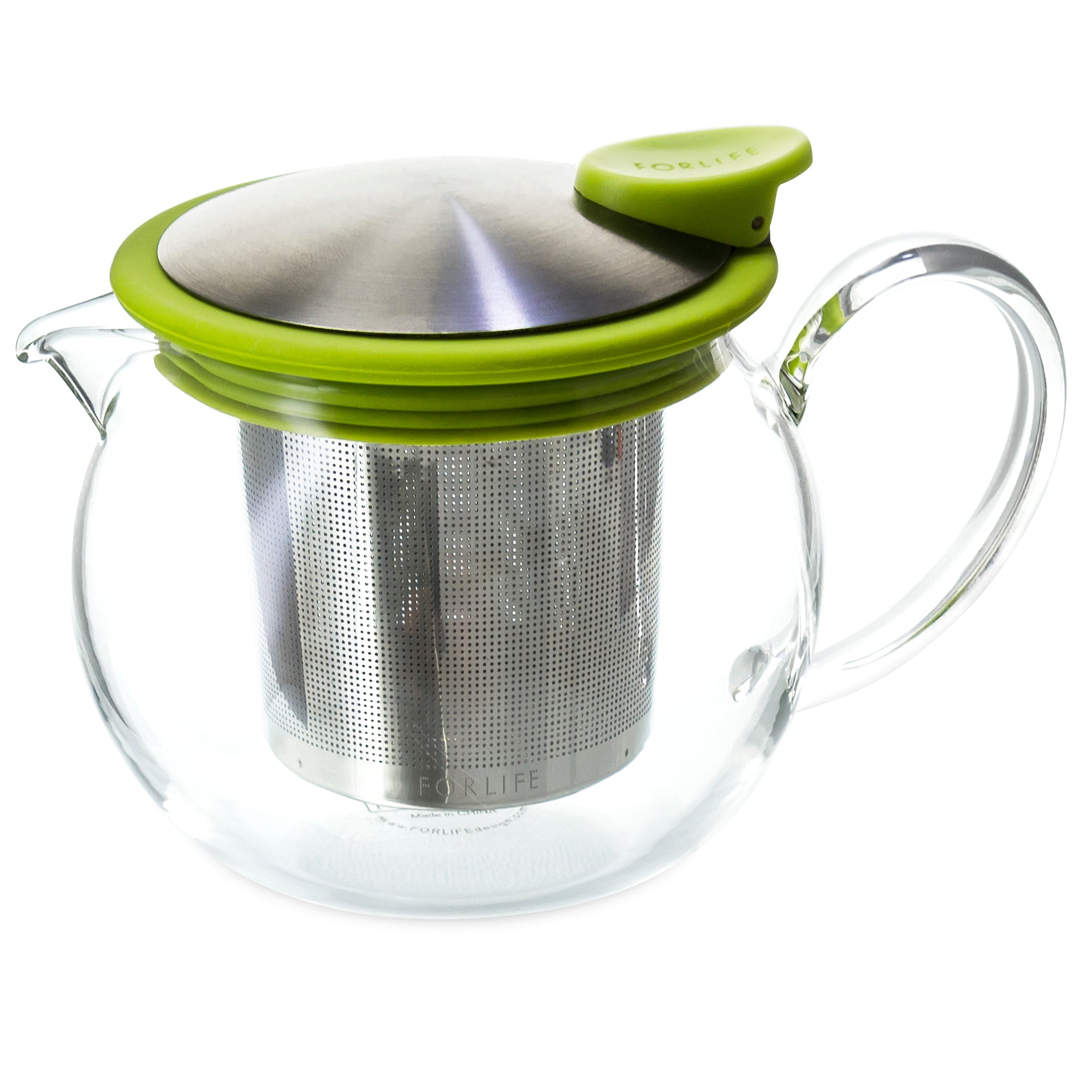 Bola Glass Teapot with Basket Infuser<br>15 oz.