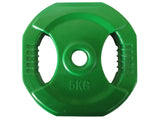 Rubber Coated Pump Weight Plate