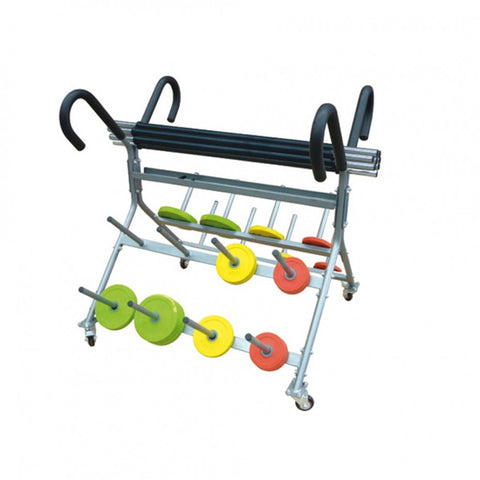 Pump Set Rack On Wheels