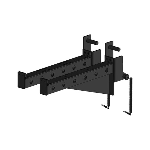 Modular Rig - Safety Spotter Arm Pair for 75mm Tube