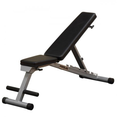 Body Solid Powerline Flat Incline Decline Bench (PFID135X)