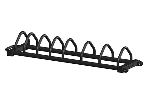 Toaster Bumper Plate Rack on Wheels with Handle