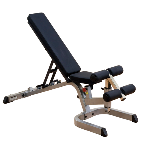 Body Solid Heavy Duty Flat Incline Decline Bench (GFID71)