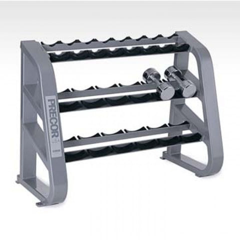 Precor 10 Pair Beautybell Rack