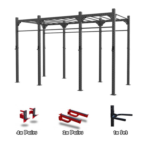 Modular Squat Rack / Rig (2 Cell)