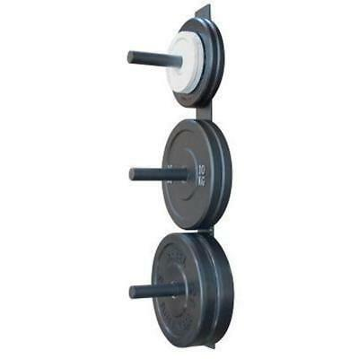 Wall Mounted Bumper Plate Rack