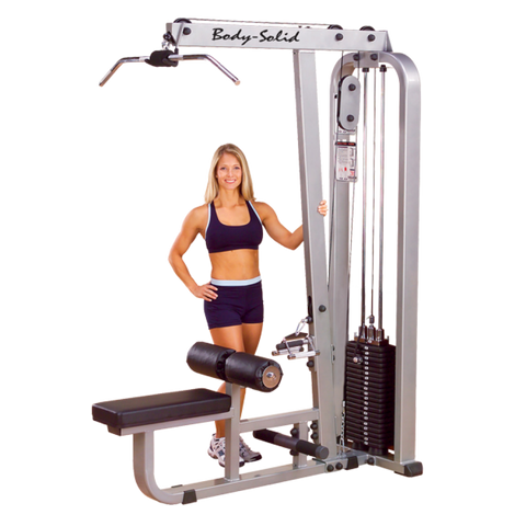 Body Solid Pro Club Line Lat Pull Down & Mid Row (SLM300G)