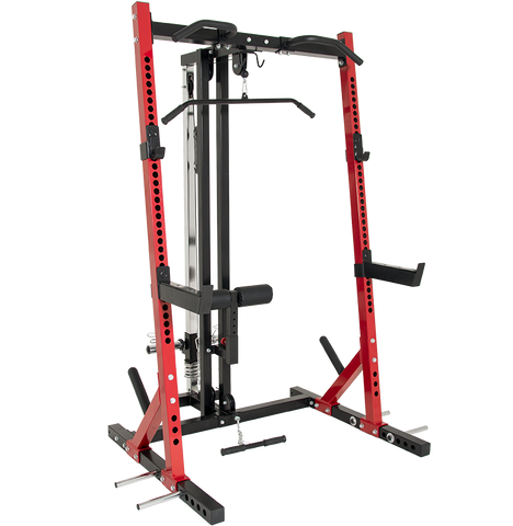 Half Rack (TB-460) with Lat Attachment
