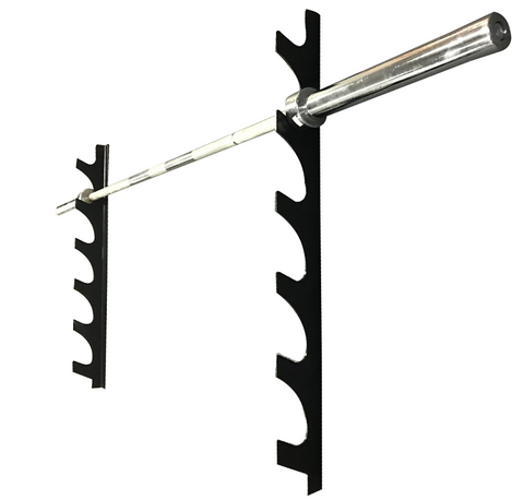 Wall Mounted Barbell Rack (Horizontal)