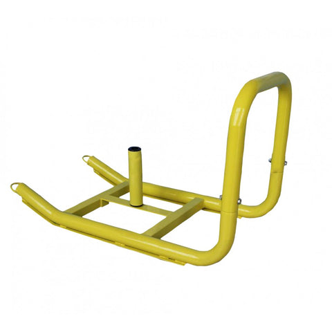 Yellow Sled with Harness