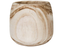 Load image into Gallery viewer, Wood Pot Natural