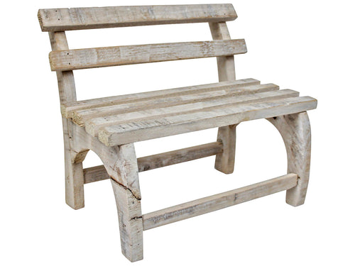 Rustic Mini Bench Wooden