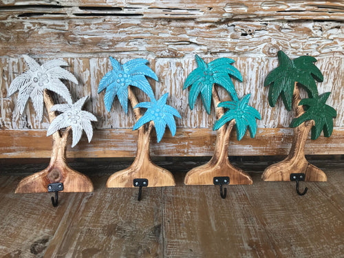Aloha Wooden Palm Trees