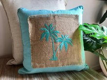Load image into Gallery viewer, Skylark Palm Tree Pillows - Multiple Colours