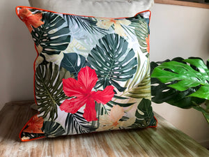 Tropical Hibiscus Pillows