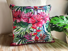 Load image into Gallery viewer, Tropical Hibiscus Pillows