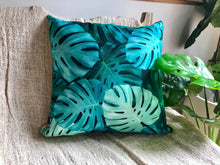 Load image into Gallery viewer, Tingira Monstera Pillow