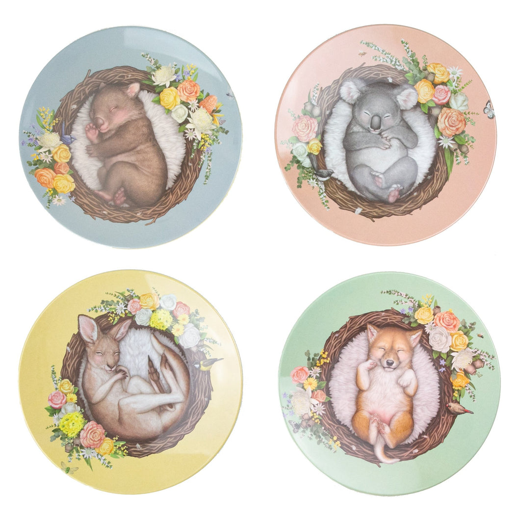 Nested Babies Plates - Set of 4