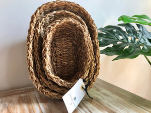 Sea Grass Baskets - Set of 3